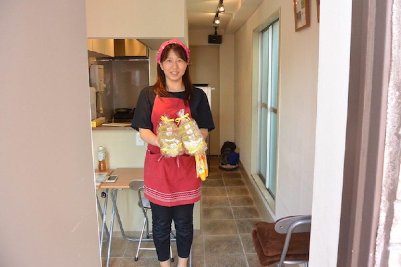 修了生レッスン 季節限定ベジシフォン(ほうれん草&チーズ)、ご参加ありがとうございました