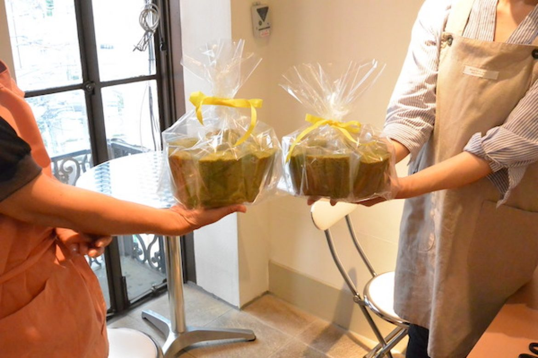 基礎クラス 抹茶シフォンケーキのお写真ご紹介