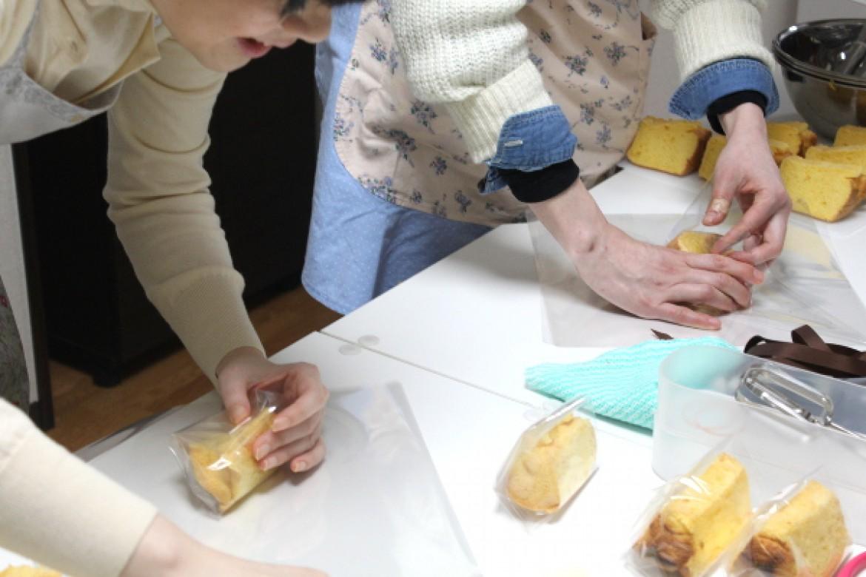 天使のしふぉん教室「バニラシフォンケーキ」