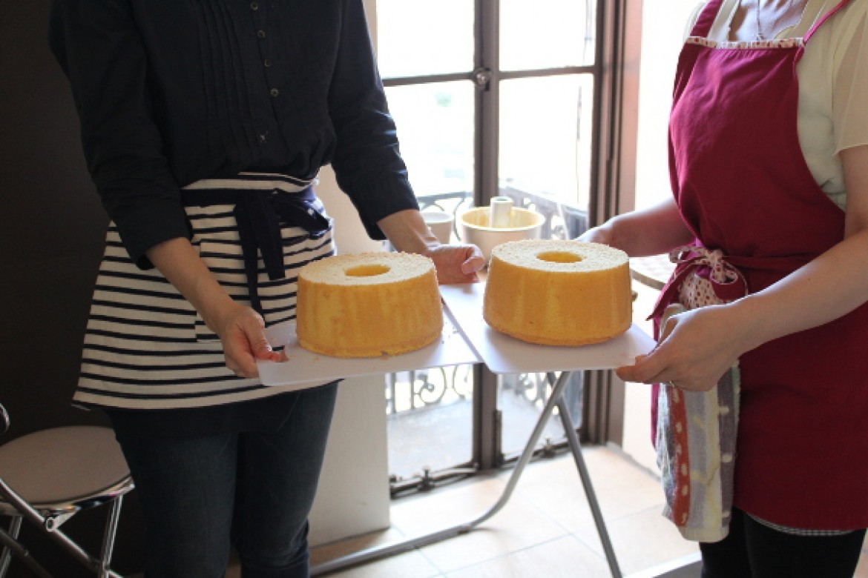 2014年8月期シフォンケーキ教室はじまりました!