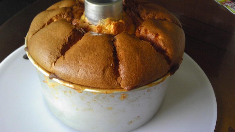 シフォンケーキ教室ご参加の方からオレンジシフォンケーキのお写真をお送り頂きました!
