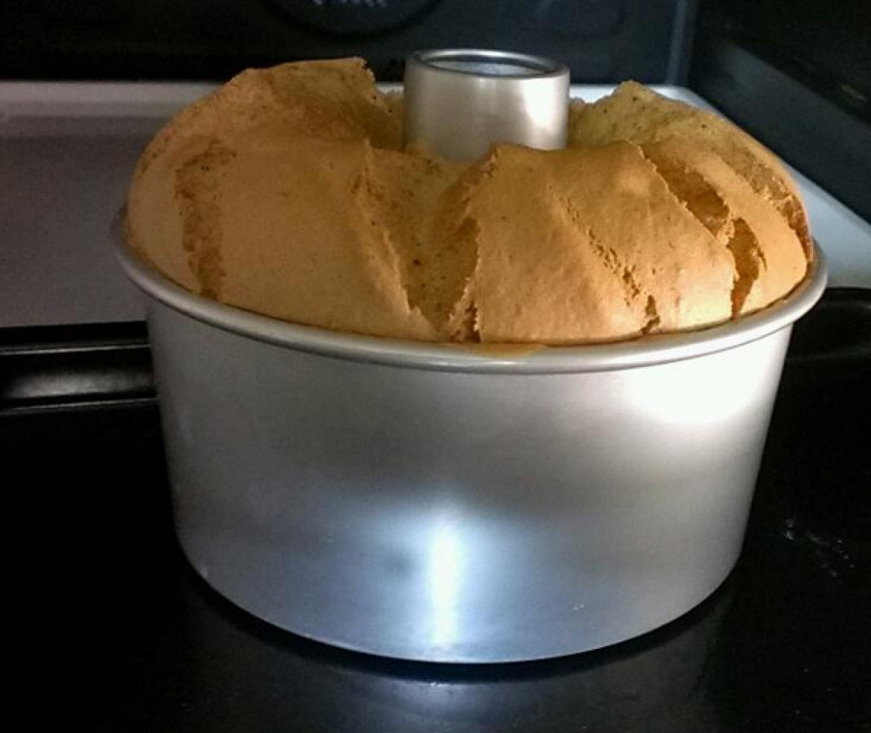 シフォンケーキ教室にご参加の方から、紅茶シフォンケーキのお写真をお送り頂きました!