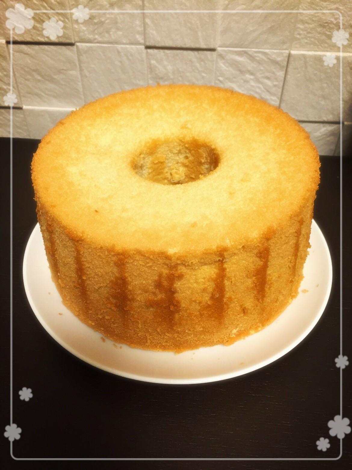 お教室ご参加の方から、シフォンケーキのお写真を頂戴いたしました!