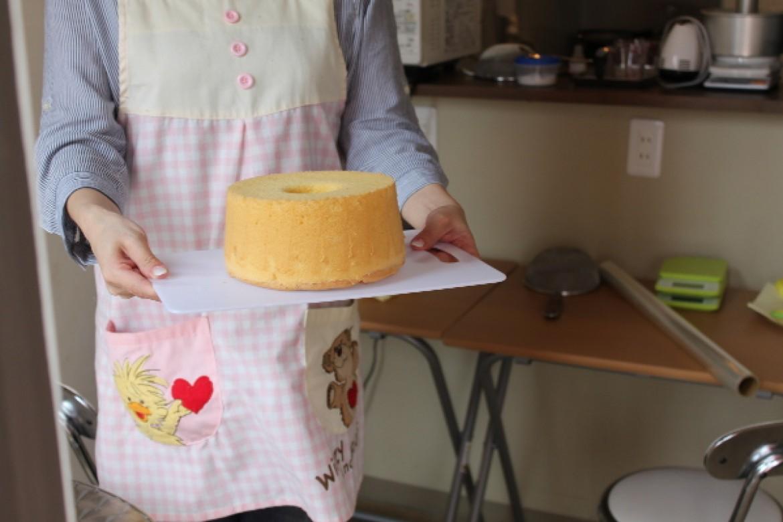 ようこそ!青山天使のしふぉん シフォンケーキ教室へ。お越しいただきありがとうございました