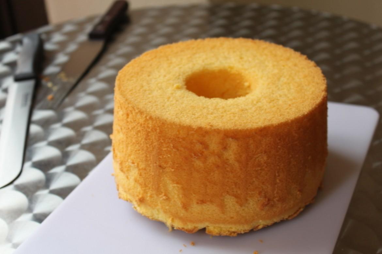 失敗例から学ぶシフォンケーキ、オレンジシフォンケーキの底上げ
