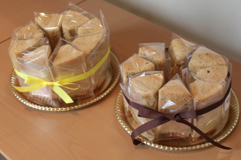 基礎クラス 紅茶シフォンケーキ、プレゼントされたら嬉しい♪とラッピングのときのご感想です