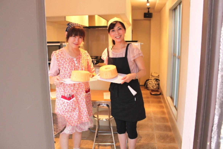 青山 天使のしふぉん シフォンケーキ教室へようこそ!お越しいただきありがとうございました