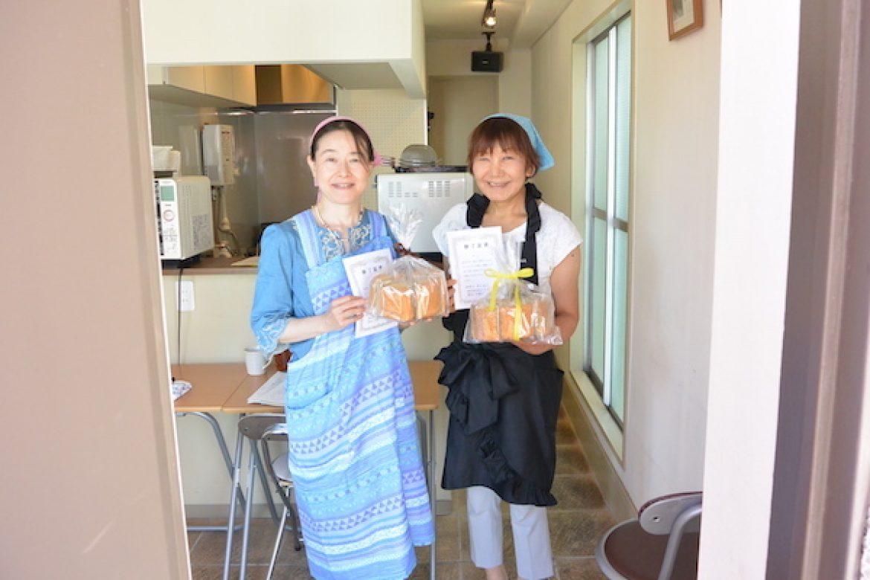 青山天使のしふぉん シフォンケーキ教室、修了おめでとうございます!