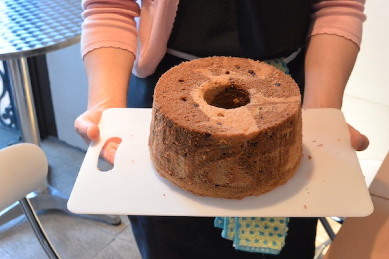 珈琲マーブルチョコチップシフォンケーキのお教室