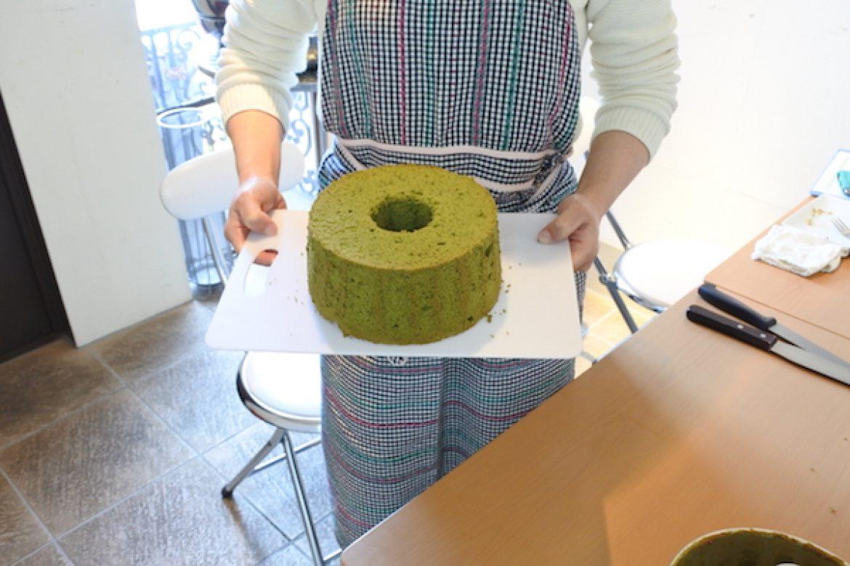 京抹茶を贅沢に使った抹茶シフォン・爽やかな香りが人気のオレンジシフォンを作りました