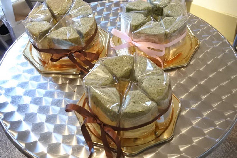 和のシフォンケーキ よもぎ餡しふぉん