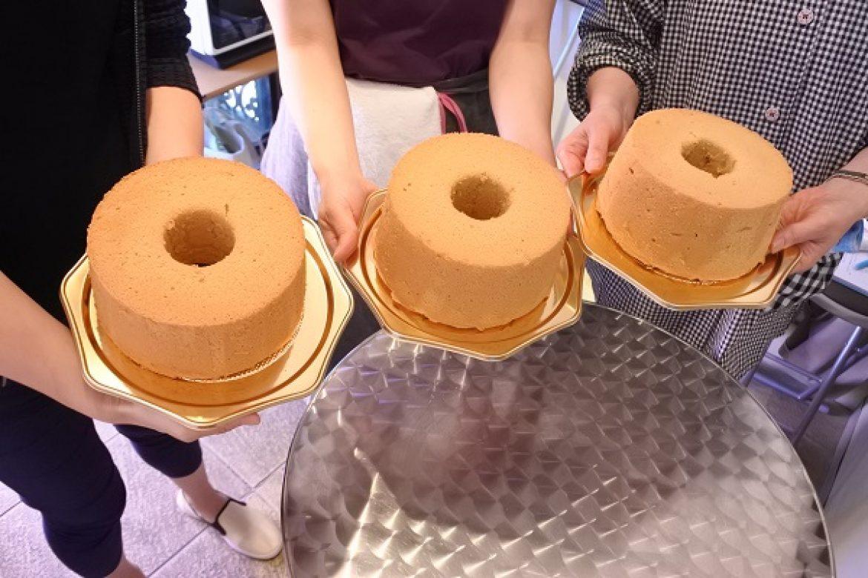 シフォンケーキ教室 ご参加ありがとうございます!