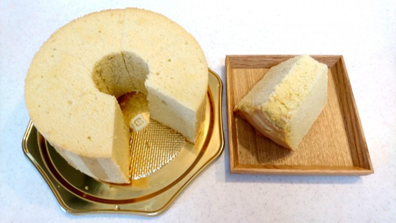 お教室ご参加の方からシフォンケーキのお写真をお送りいただきました