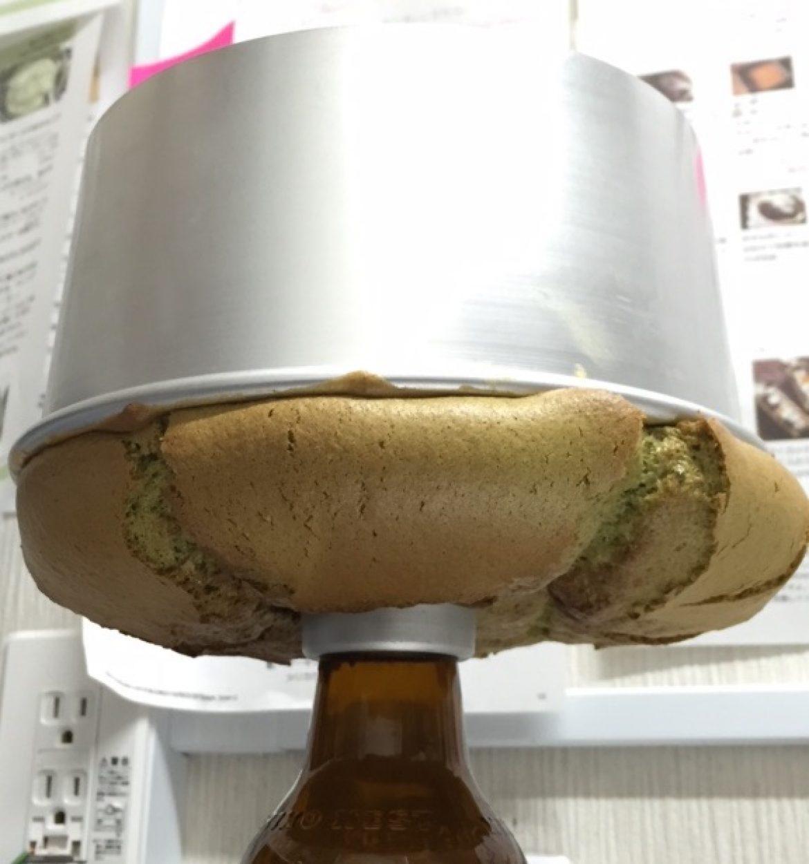 <追記>受講生の方から、抹茶シフォンケーキのお写真を早速お送りいただきました♪