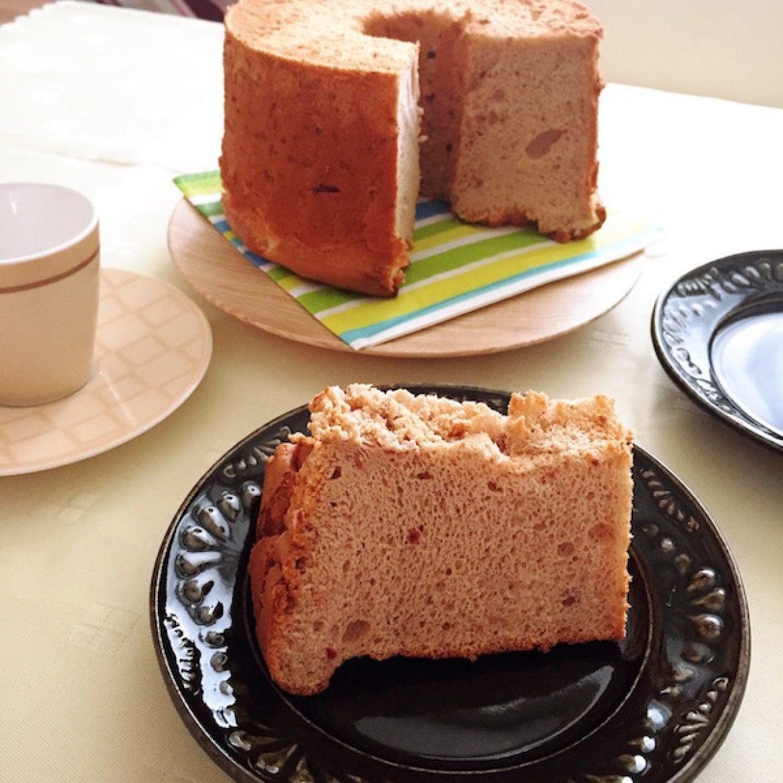 青山天使のしふぉん修了生 Junさんが作る「苺のシフォンケーキ」